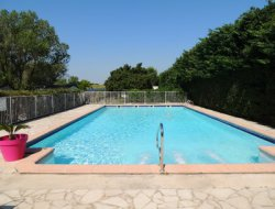 Campsite near Nimes or Avignon in France near Fontvieille