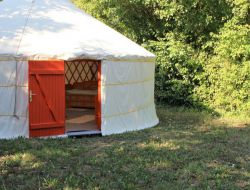 Unusual stay in a yurt close to La Rochelle in France. near Angoulins