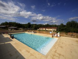 4 stars camping in the Lot, Midi Pyrenees. near Salviac