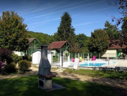 Holiday village in the Yonne, Burgundy.