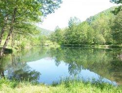 camping avec mobilhomes en Ariège
