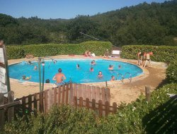 camping mobilhomes en Haute Provence.