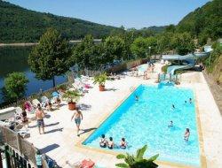 Vacances en camping dans l'Aveyron.