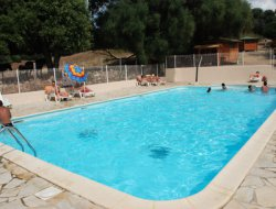 Seaside holiday rental in camping in Corsica. near Cargese