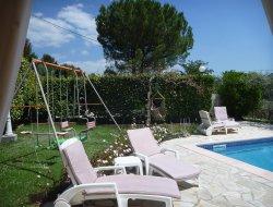 Gîte avec piscine chauffée dans les Bouches du Rhone.