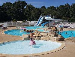 camping avec piscine chauffée, Golfe du Morbihan