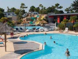 mobilhomes avec piscine chauffée en Vendée