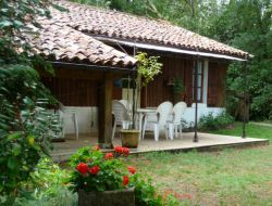 Holiday cottage in the natural park of the Landes de Gascogne