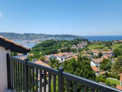 Location vacances avec vue sur mer a Hendaye.