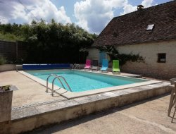 Cottage with private pool in Dordogne, Aquitaine. near Sorges