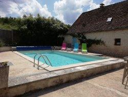 Gite avec piscine privée en Dordogne