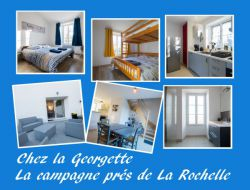 Holiday cottage near La Rochelle in France. near Angoulins