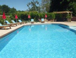 Gites avec piscine chauffée en Charente Maritime.