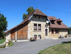 Gîte a louer à Mignovillard dans le Jura.