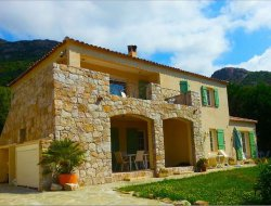 Seaside holiday rental in Corsica