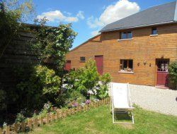 Holiday cottage near Honfleur in Normandy, France. near Beaufour