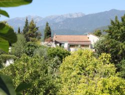 Air conditioned holiday accommodation in Corsica. near Favone