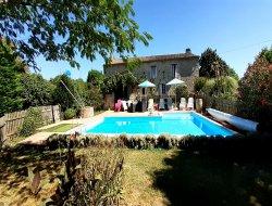 Grand gite avec piscine a louer dans le Lot et Garonne