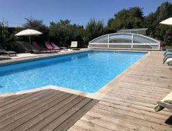 Grand gite avec piscine chauffée près du mont St Michel