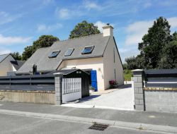 Holiday home near Perros Guirec in Brittany, France. near Tregastel