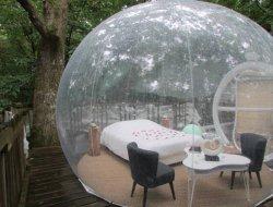 Séjour insolite en bulle dans le Lot et Garonne.