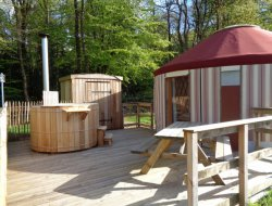 Unusual stay in yurt in the Finistere, Brittany. near Henvic