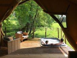Lodges avec spa privatif en Indre et Loire