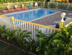 Gîte avec piscine et jacuzzi privés en Guadeloupe