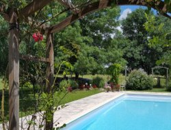 Gite de charme avec piscine dans le Lot et Garonne