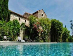 B&B with swimming pool in the Gard, France.