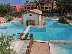 Camping mobilhomes a louer sur la côte d'Azur.