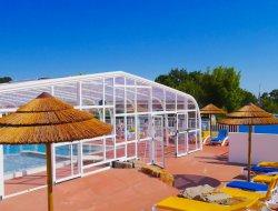 Mamping avec piscine chauffée en Loire Atlantique