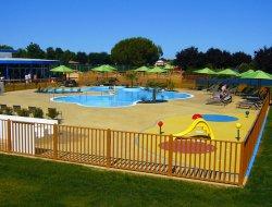Camping avec piscine chauffée en Vendée.