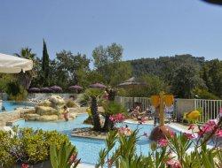 camping avec piscine sur la Côte d'Azur