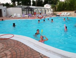 mobilhomes avec piscine chauffée en Cherente Maritime.