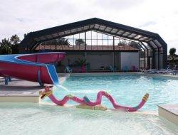 Camping avec piscine chauffée en Charente Maritime.