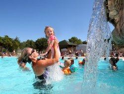 mobil homes avec piscine chauffée en Vendée