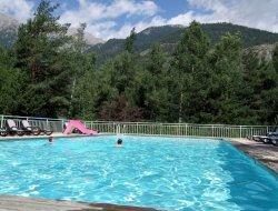 camping avec piscine chauffée dans les Hautes Alpes.