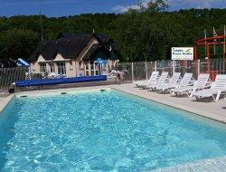 camping avec piscine chauffée dans l'Eure.