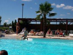 Camping avec piscine chauffée dans le Lot et Garonne