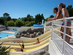 mobilhomes avec piscine chauffée cote vendéenne
