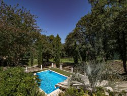 5-stars campsite in the Gard, France. near Uzes