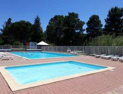 camping avec piscine chauffée dans le 66