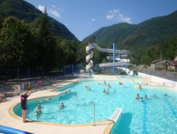 Camping avec piscine chauffée en Ariège