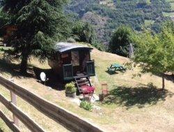 Séjour insolites en roulotte dans les Pyrénées