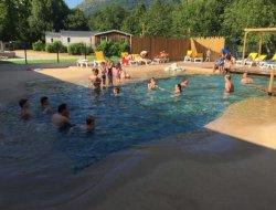 camping avec piscine chauffée dans les Pyrénées Atlantiques.