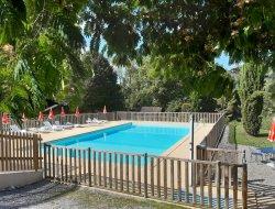 mobilhones avec piscine dans le Béarn 64.