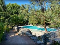 camping avec piscine chauffée dans les cévennes
