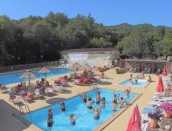 mobilhomes avec piscine chauffée dans le Gard