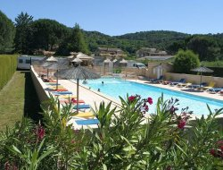 campings avec piscines chauffée dans le Gard